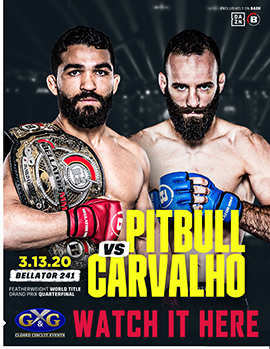 Pitbull vs. Carvalho